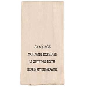 Morning Exercise Towel