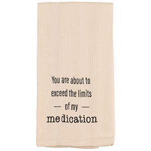 Exceed Limits Towel