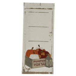 Crate and Pumpkin Dish Towel