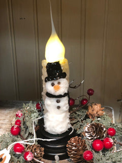 Snowman Remote on Charming Light Base