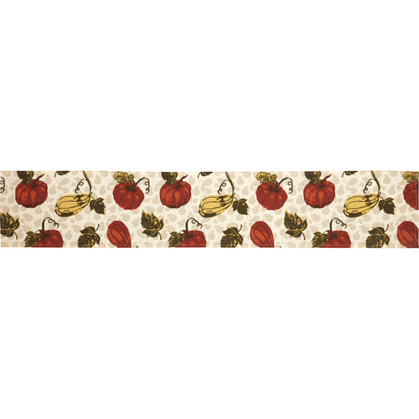 Harvest Garden Table Runner - 72""