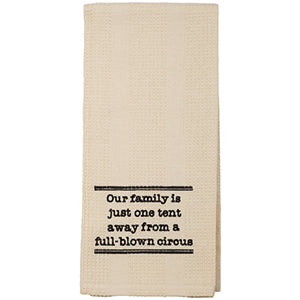 Family Circus Towel