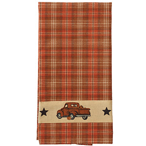 Fall Pumpkin Truck Towel