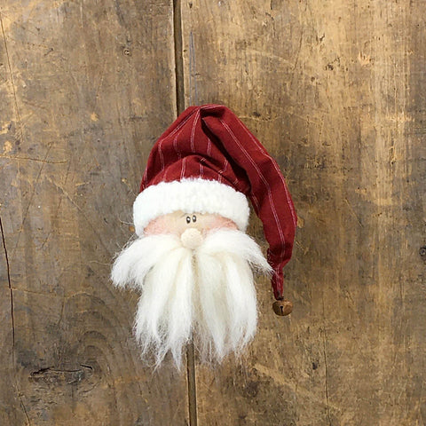 Mr or Mrs Claus Whimsical Ornament
