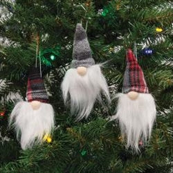 Stuffed Gnome Ornaments