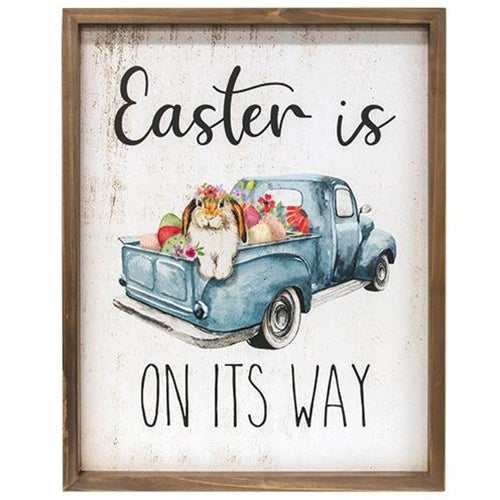 Easter Is On the Way Framed Print