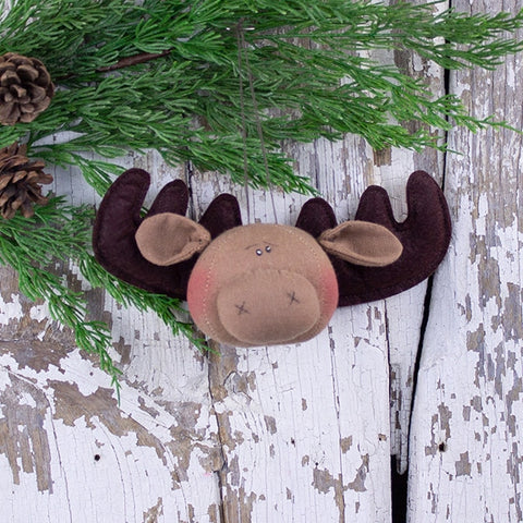 Moose Head Ornament