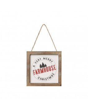 Farmhouse Framed Ornament