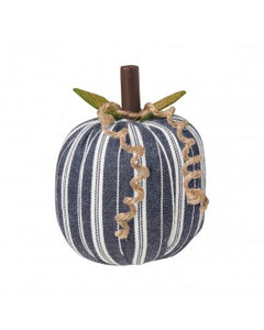Pumpkin - Small Navy/White Striped
