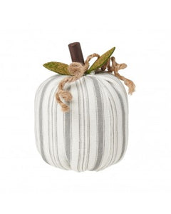 Pumpkin - Small Grey/White Striped