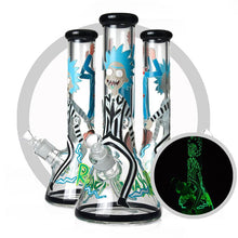 Load image into Gallery viewer, Rick & Morty - Glow In The Dark Bong