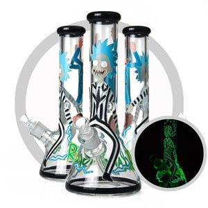Rick & Morty - Glow In The Dark Bong