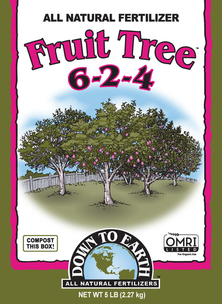 Down to Earth Fruit Tree 6-2-4 5lb