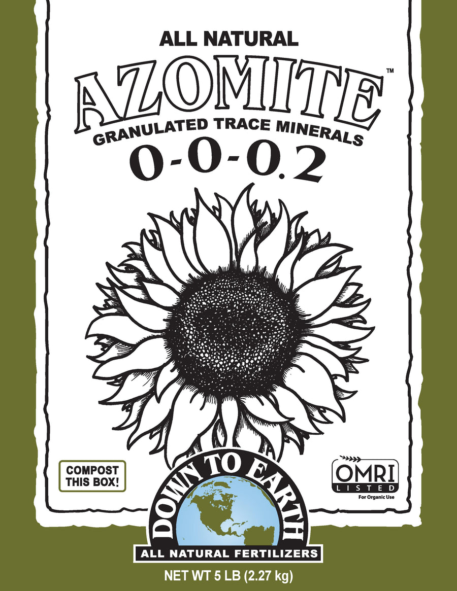 Down to Earth Granulated Azomite 5lb