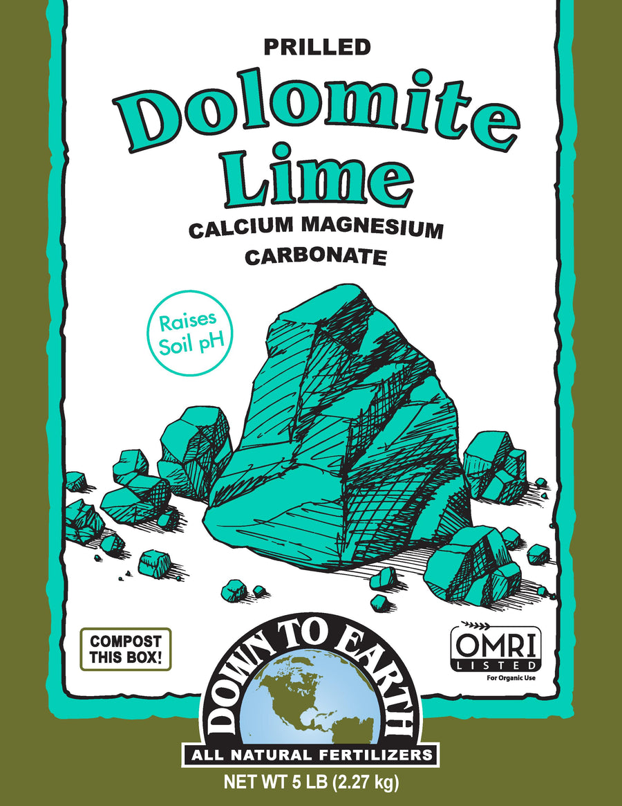 Down to Earth Dolomite Lime 5lb