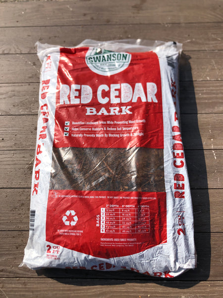 Cedar Mulch 2cf Bag