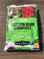 Cotton Burr Compost 2cf Bag
