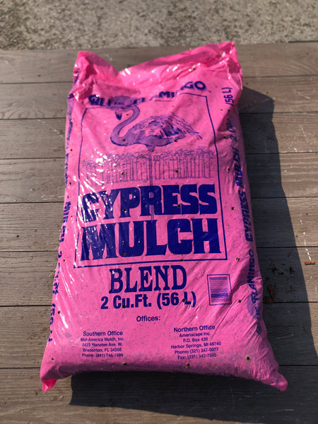 Cypress Mulch 2cf Bag