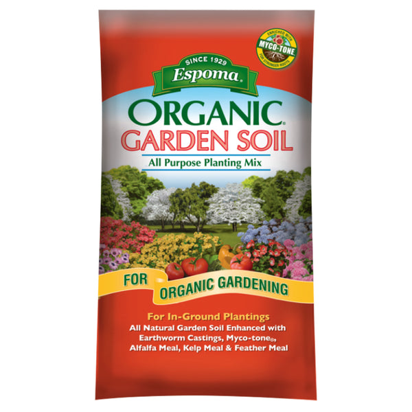 Espoma All Purpose Garden Soil 1cf Bag