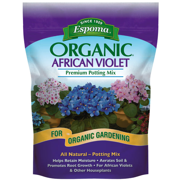 Espoma African Violet Mix 4qt Bag