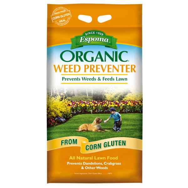 Espoma Weed Preventer w/Lawn Food