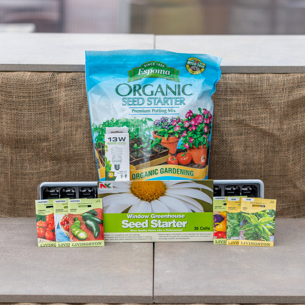 Indoor Seed Starting Package