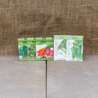 Organic Cool Weather Crop Seed Package