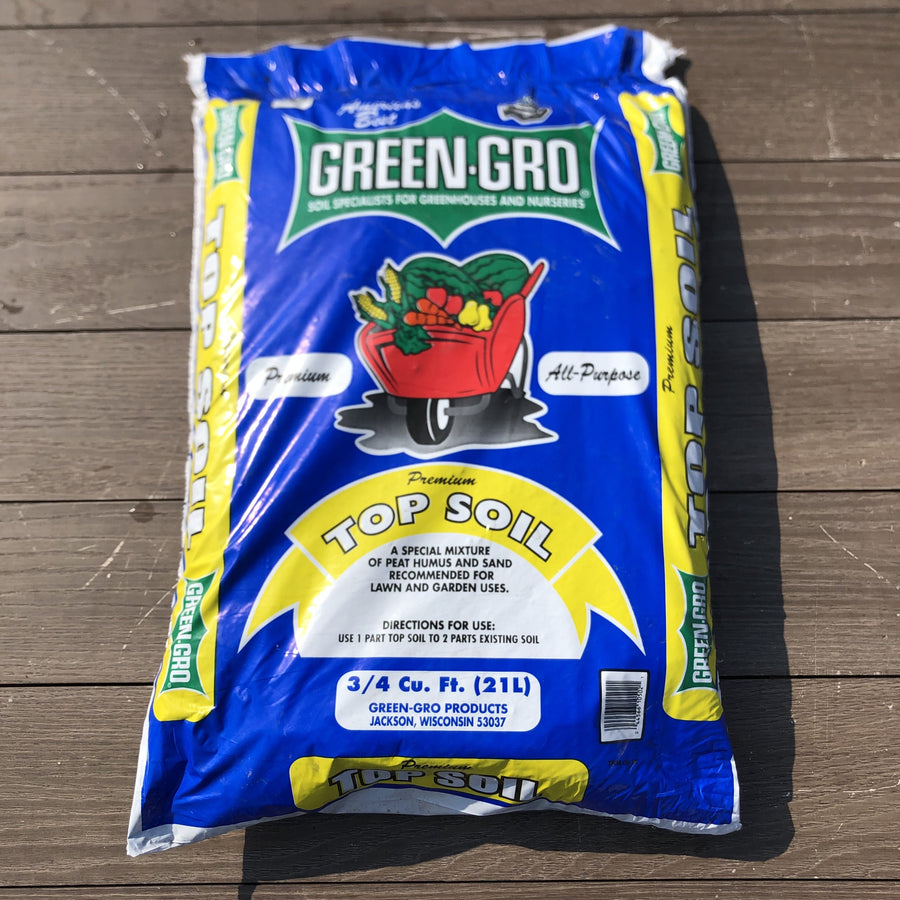 Green-Gro 40Lb Bagged Top Soil
