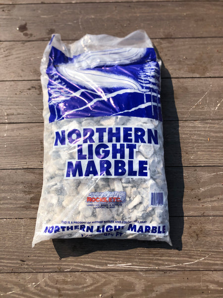 Wyoming White Marble .5 cf Bag
