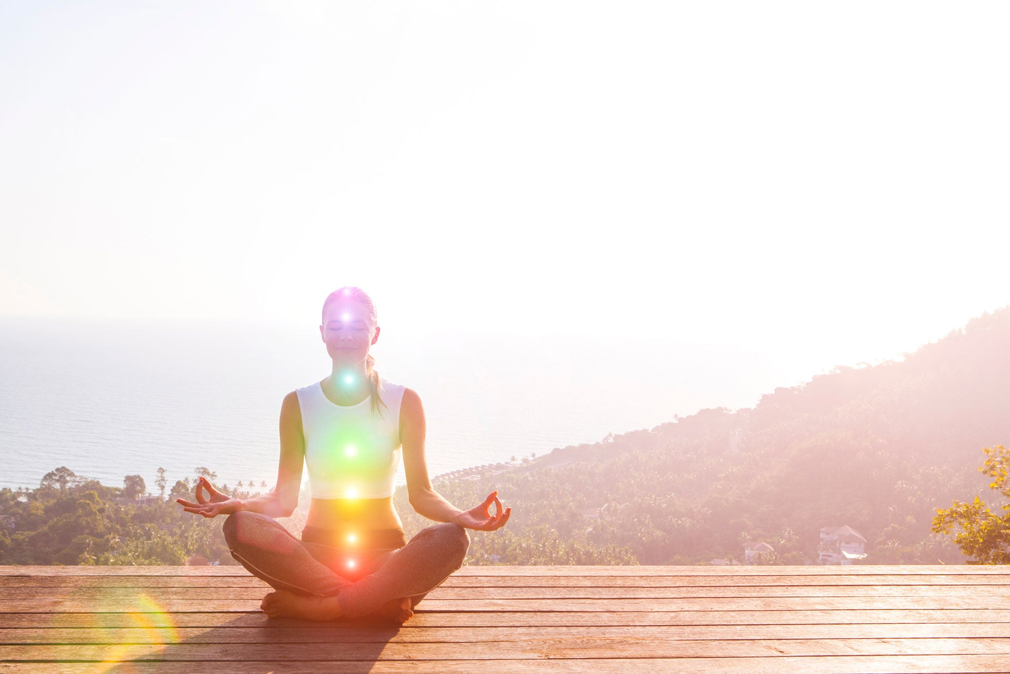 how to use chakra affirmations