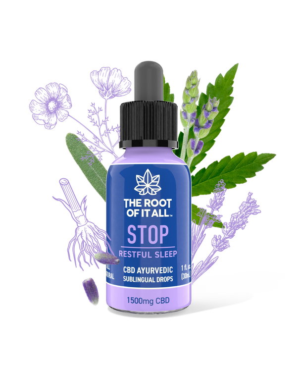 STOP - Natural CBD Sleep Aid Tincture