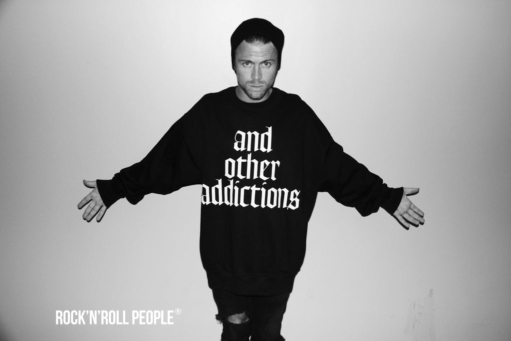 ..and other addictions - unisex crewneck