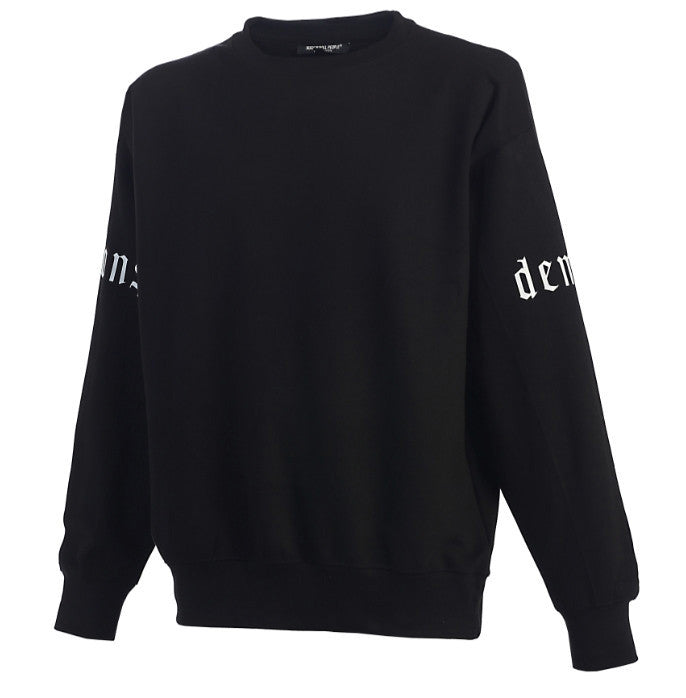 """demons"" crew neck"