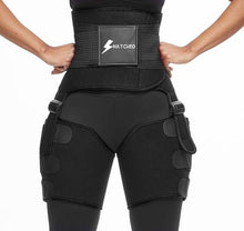 "Load image into Gallery viewer, ""Snatched"" By ForeverBody Detox Waist Trainer + Thigh & Arm Slimmer"