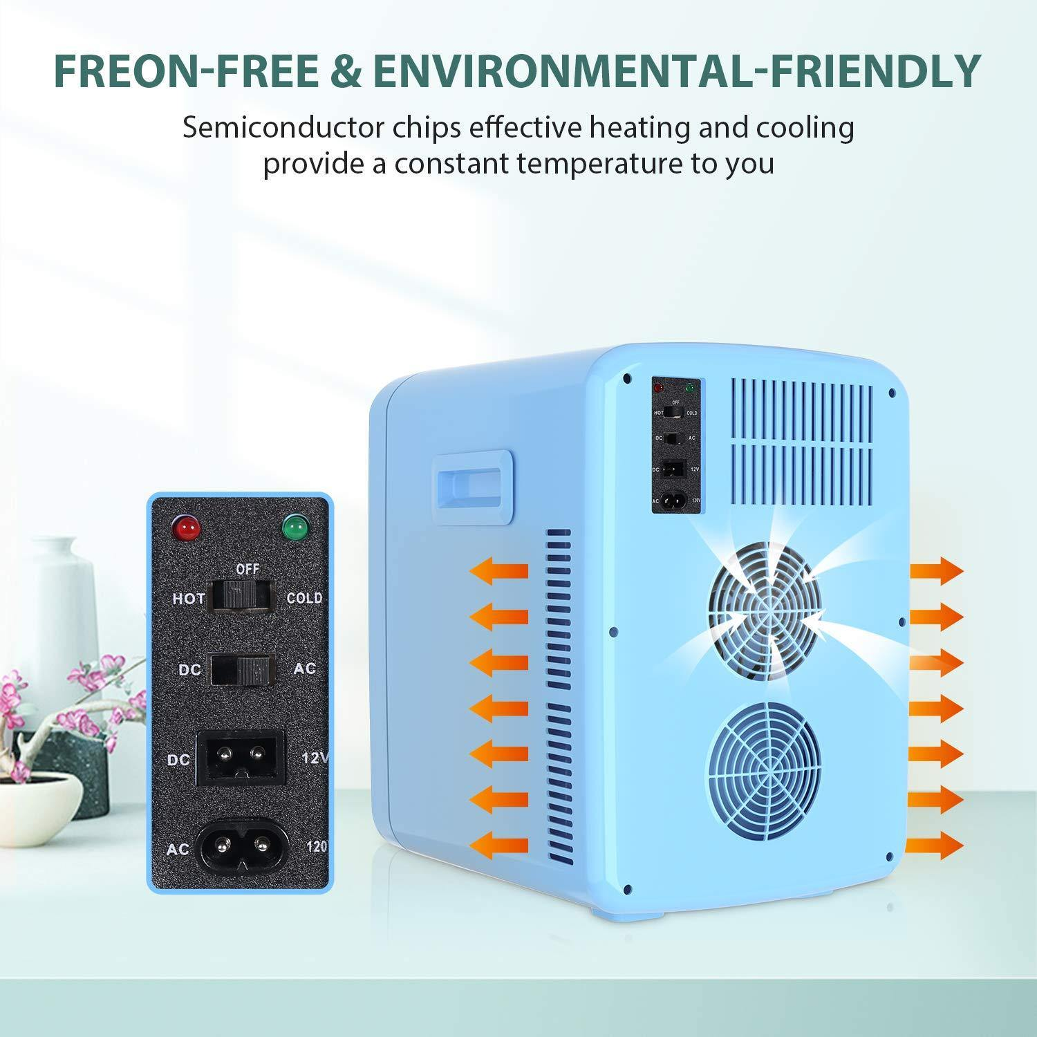 15 L Portable Mini Fridge for Home & Car ,Hot & Cold Two Modes- MR15 - MOOSOO®