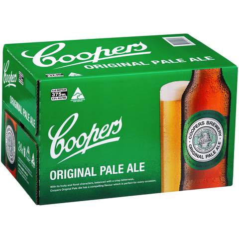 Coopers Pale Ale Stubs case of 24