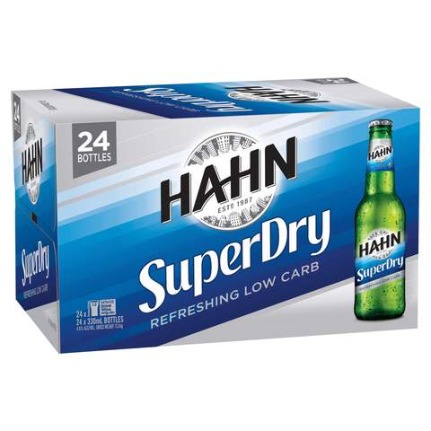 Hahn Super Dry 300ml case of 24