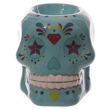 Load image into Gallery viewer, Day of The Dead Skull oil burner