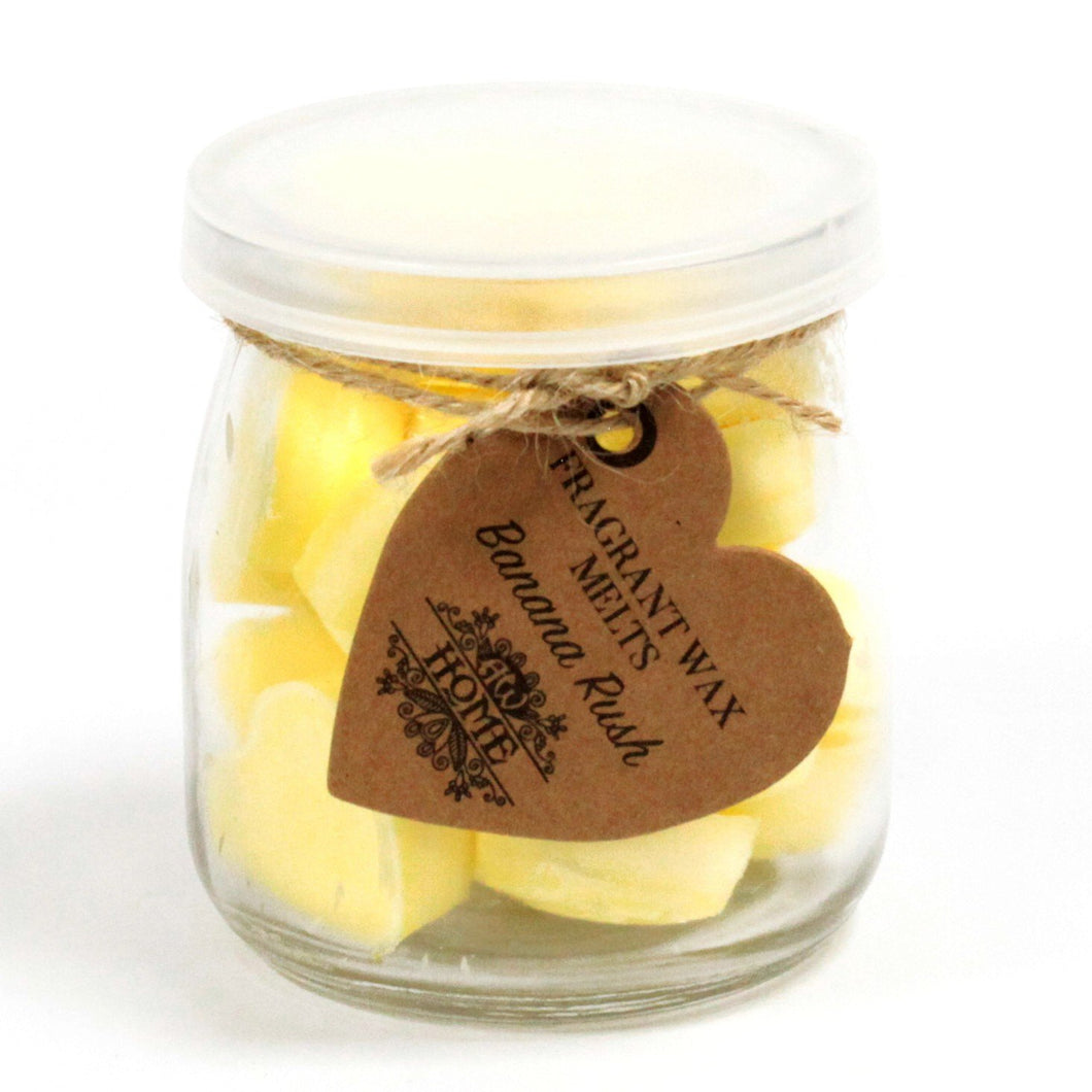 Banana rush soy wax melts 16 pieces