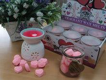 Load image into Gallery viewer, Lavender soy wax melts 16 pieces