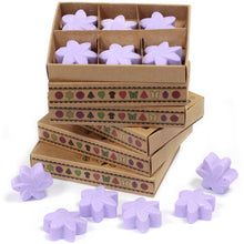 Load image into Gallery viewer, Lavender soy wax 6 pieces
