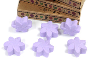 Lavender soy wax 6 pieces