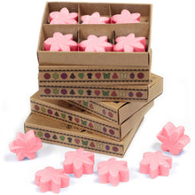 Load image into Gallery viewer, Rose soy wax melts 6 pieces