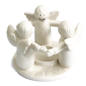 Wax oil burner angels