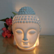 Load image into Gallery viewer, Buddha head white oil burner