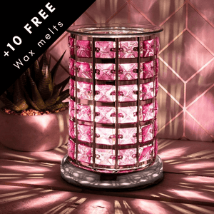 The jewelled wax melt lamp