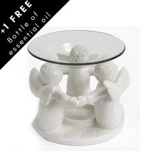 Load image into Gallery viewer, Wax oil burner angels