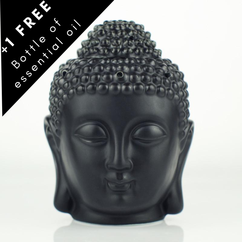 Buddha head Black oil burner