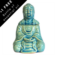 Load image into Gallery viewer, Sitting Buddha oil burner