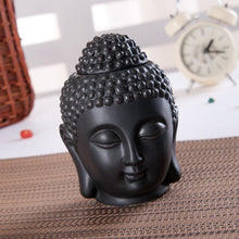 Load image into Gallery viewer, Buddha head Black oil burner
